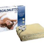 Scaldaletto Softly Imetec 50% Lana Singolo e Matrimoniale
